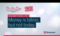 Be The Boss - Week 1, Day 3 - Money is taboo, but not today
