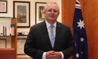 Prime Minister Scott Morrison supports the Red Shield Appeal