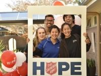 Volunteer with the Salvos