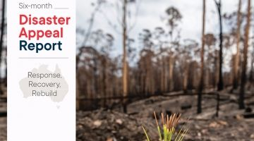 Bushfire Disaster Appeal Report released