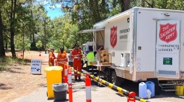 Salvation Army Emergency Services prepared to respond