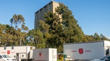 Salvos step up support as Melbourne lockdown is reinstated