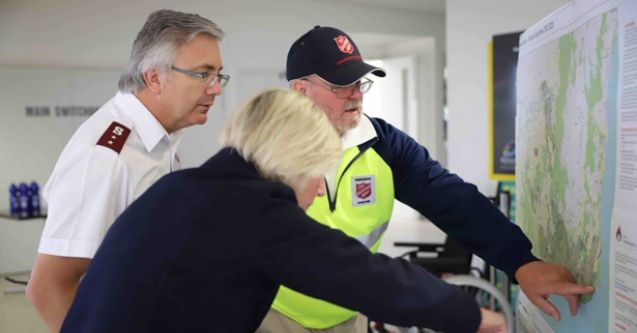 Salvos ramp up bushfire recovery operation