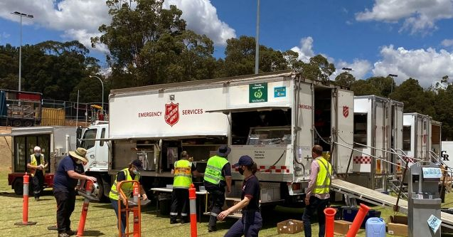 Businesses rally to support Salvos response and recovery in WA bushfires