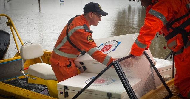 Salvos serve thousands of meals to first responders and NSW flood evacuees
