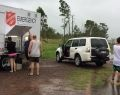Salvos launch disaster appeal for communities affected by Cyclone Debbie