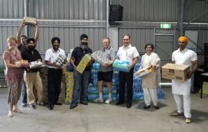 Sikh community supports Salvos' cyclone relief