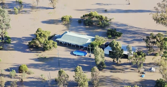 Flooding in the St George area