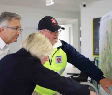 Salvos ramp up bushfire recovery operations