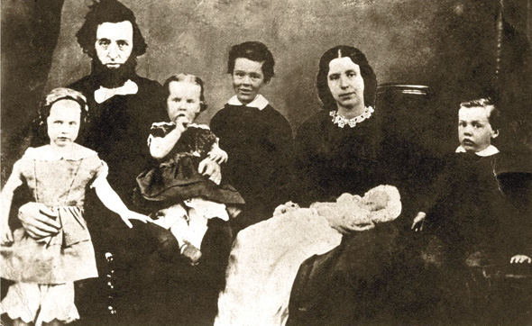 William and Catherine Booth, with 5 of their 8 children