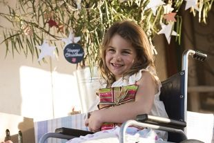 6-year-old Alice enjoys a Happy Christmas after receiving assistance from the Salvos