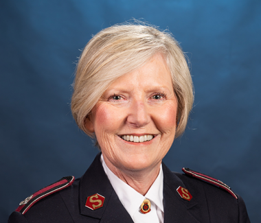 Winsome Merret The Salvation Army Chief Secretary