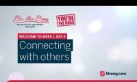 Be the Boss - Week 1, Day 5 - Connecting with Others