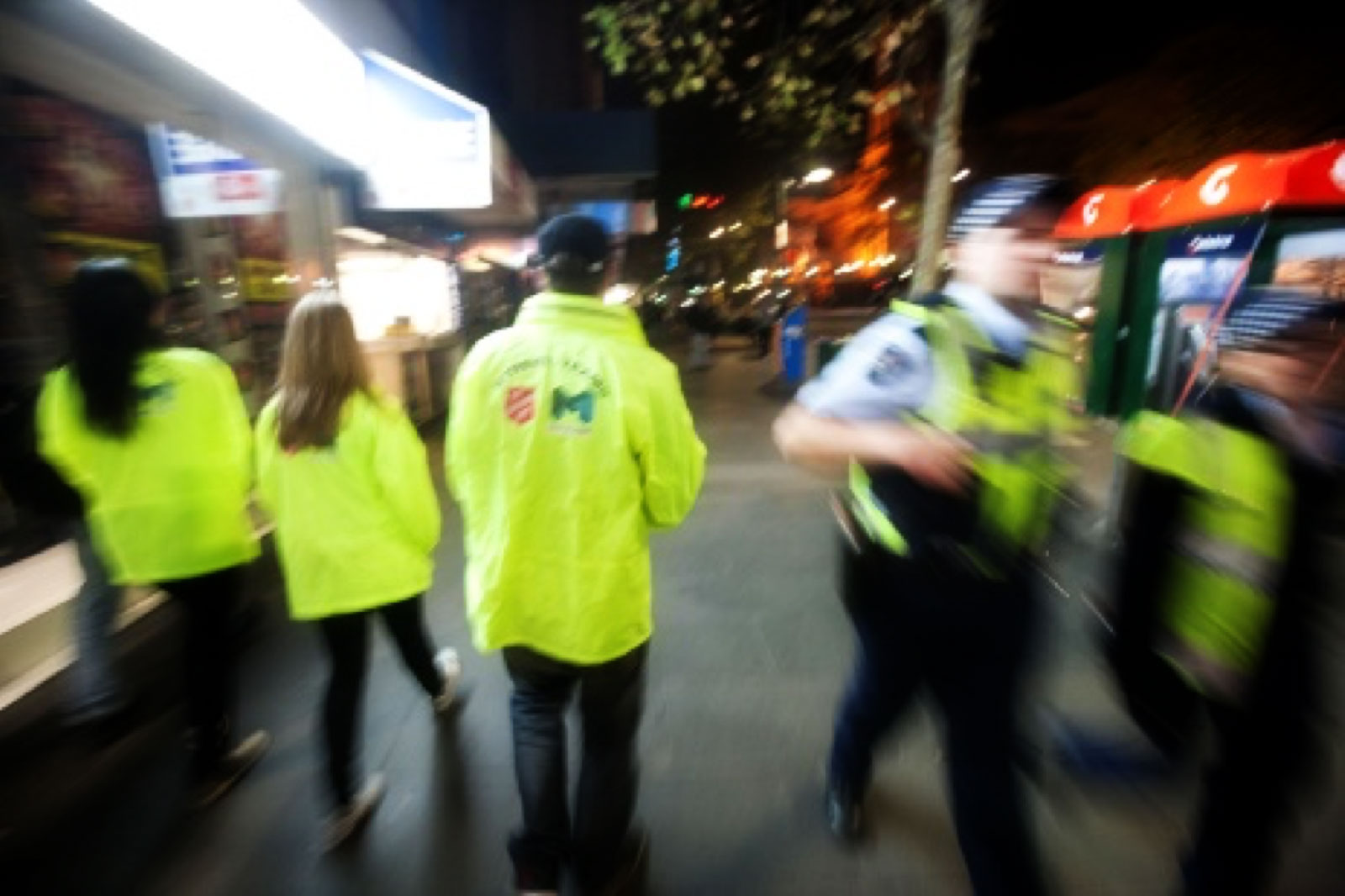 Vounteer teams in Melbourne CBD