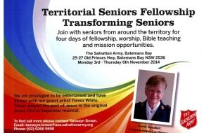 Territorial Seniors Fellowship