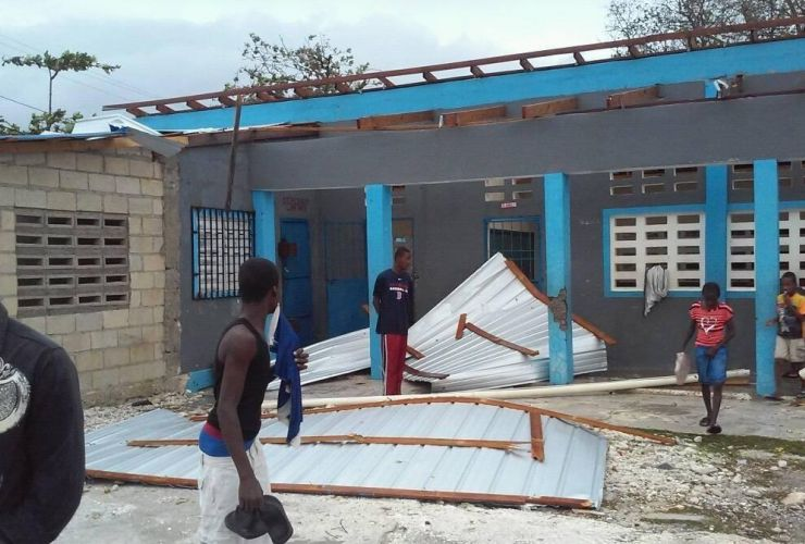 Hurricane Matthew in Haiti