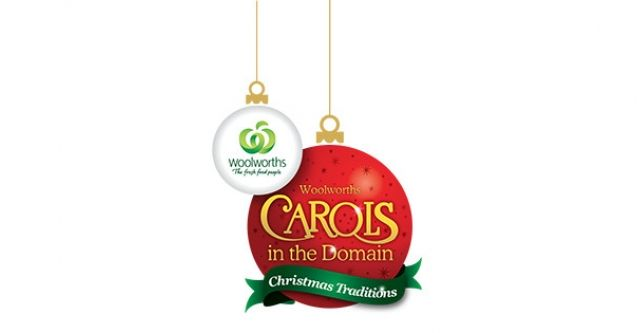 Woolworths Carols in the Domain tent