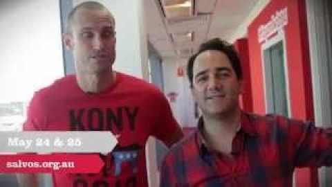 Red Shield Appeal Youth Doorknock Recruitment Video with Fitzy & Wippa