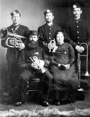 The Frys, early bandsmen