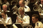 Contemporary Salvation Army brass band