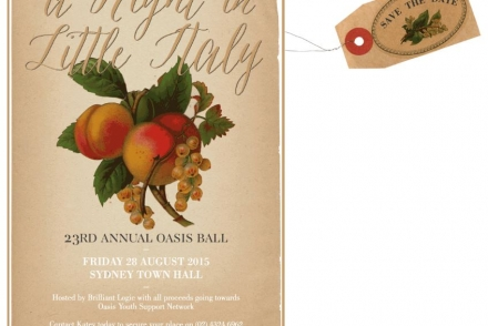 23rd Annual Oasis Ball – Save the Date