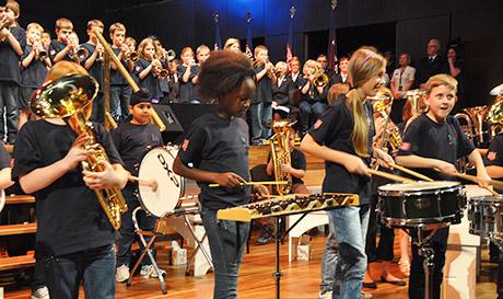 percussion Hamer Hall