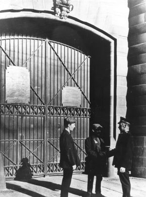 Prison Gate Brigade at Melbourne Gaol
