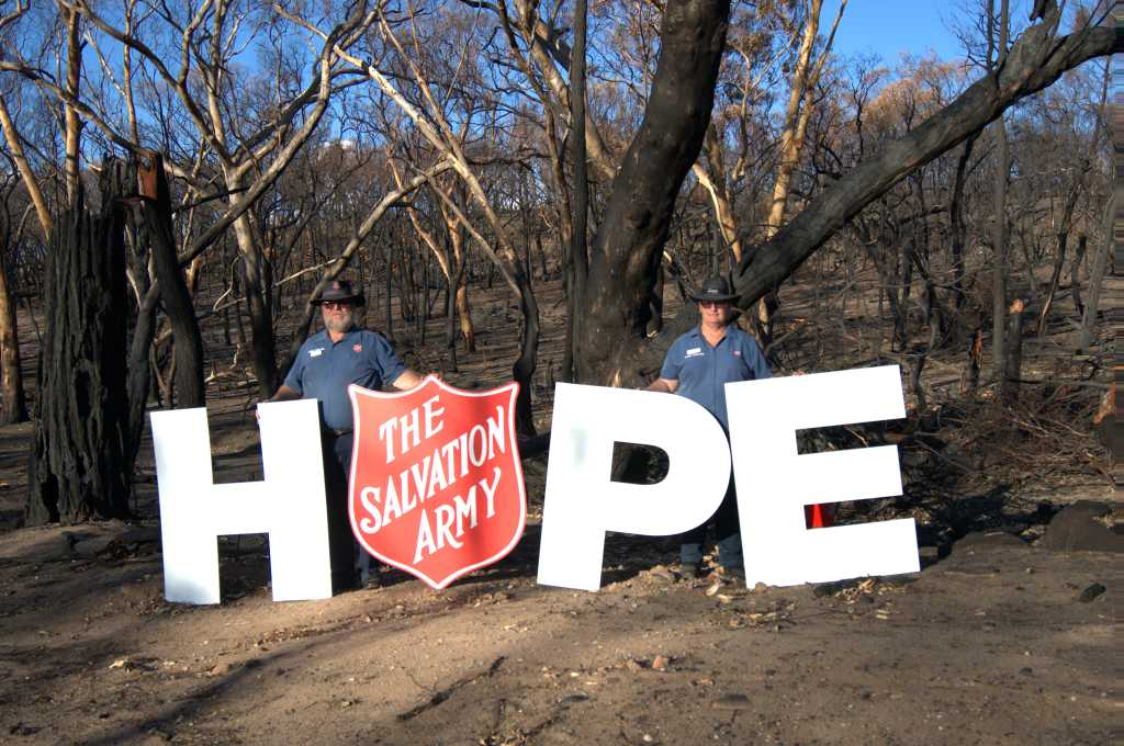 salvos services to help people affected by disasters